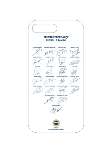 Fenerbahçe Cep Telefonu Kılıfı Beyaz